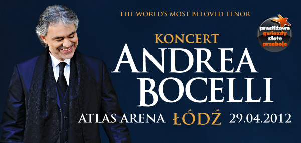 Bocelli Łódź Atlas Arena
